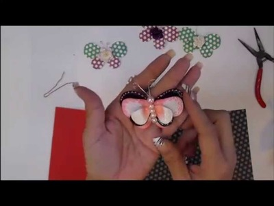 Justafew - Making Butterflies using petals . diy.tutorial