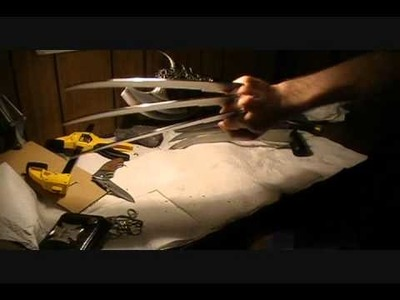 Make Authentic Wolverine Claws (Las Garras de Wolverine)