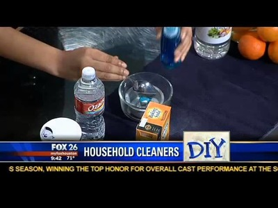 Natural Resources Segment on Fox News 26: Natural Solutions for Home Base Cleaning