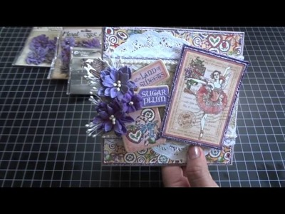 Nutcracker Sweet Card Giftcard holder - G45.Petaloo Blog Hop!