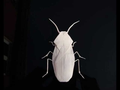 Origami Cockroach  Robert J. Lang