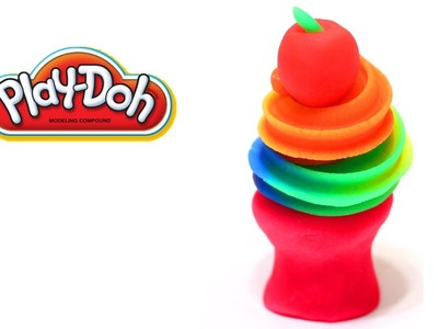 Play-Doh Rainbow Swirl Tutorial