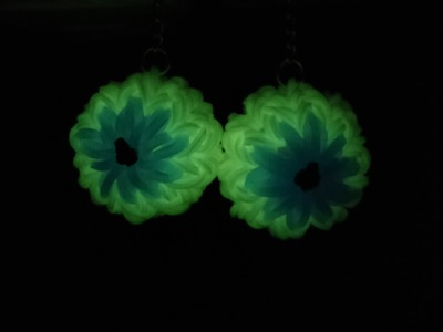 Rainbow Loom - 3D Mini Eyeball Earrings (Part 1) | How to