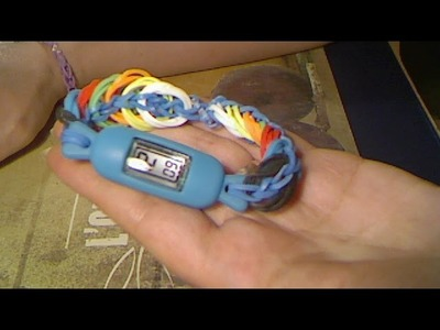 Rainbow loom francais montre rectangle ( loom band )
