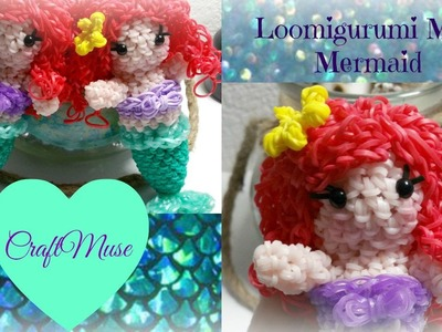 Rainbow Loom Loomigurumi Mini Mermaid.Ariel