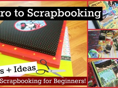 Scrapbooking For Beginners - Tips + Ideas  | CraftieAngie