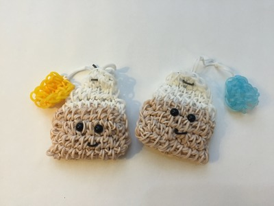 Teabag Tutorial Rainbow Loom Kawaii Loomigurumi.Amigurumi Hook Only