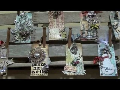 Tim Holtz ideaology at CHA Summer 2012