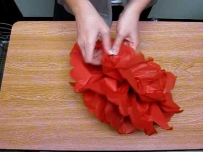 Tissue Puff Ball Step 3
