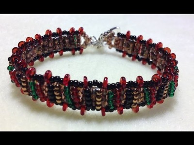 (Tutorial) Fall Tone Bracelet ( Video 89)