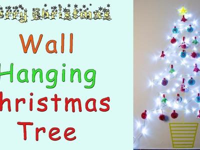 Wall Hanging Christmas Tree | Washi Tape
