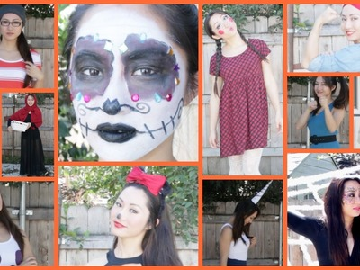 16 EASY DIY HALLOWEEN COSTUMES