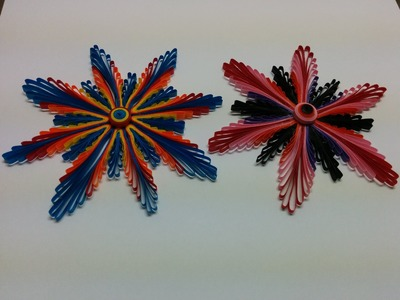 Art & Carft: How to make Paper Quilling Flower