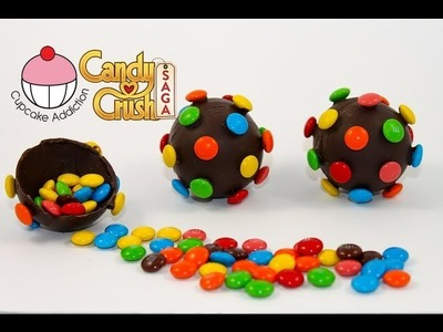 CANDY BOMB Pinatas! How to Make Candy Crush Saga Colour Bombs by Cupcake Addiction
