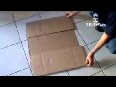 DIY Cardboard Shirt Folder