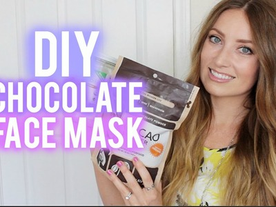 DIY: Choclate Face Mask | vlogwithkendra
