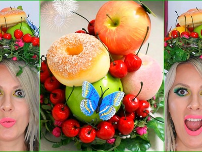 DIY Crafts Fruit Headdress Hat Hair Accessories
