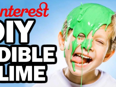 DIY Edible Slime - Man Vs Pin - Pinterest Test #67