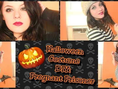 DIY Halloween Costume: Prisoner Escape - For Pregnant Women!!