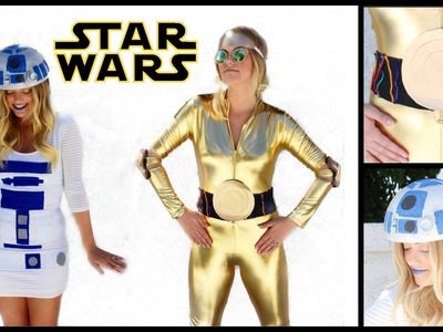 DIY R2-D2 & C-3PO Star Wars Halloween Costumes! Style By Dani