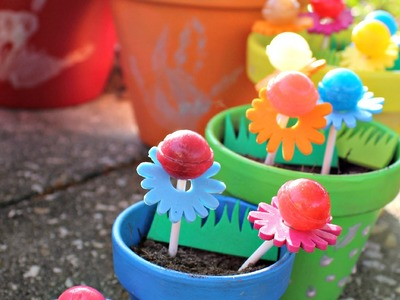 DIY The Magic of Spring Garden with Dum Dums Lollipops