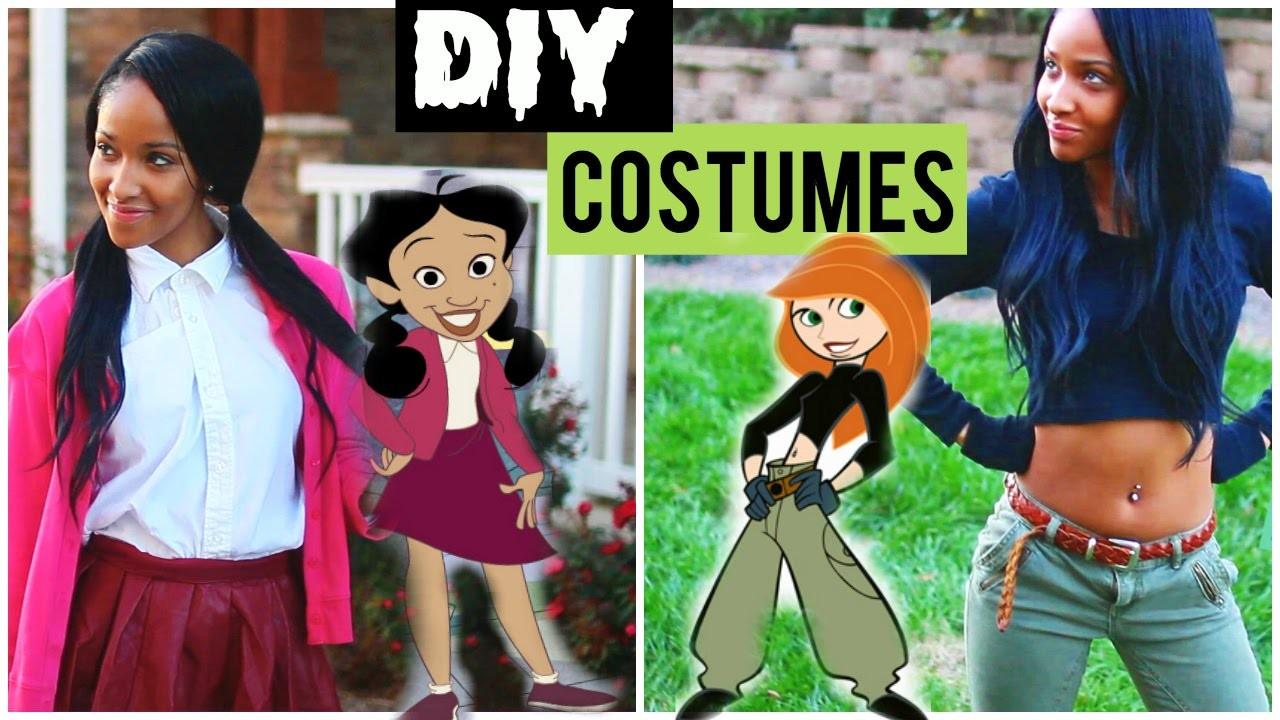 DIY Throwback Disney Inspired Halloween Costumes!