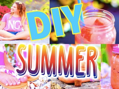 DIY Your Summer: Make Your Own Tanning Lotion, Sandals and More!