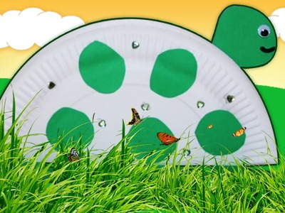 Easy DIY Crafts Ideas | Paper Plate Turtle | Crafts For Kids | Kids Room Decor