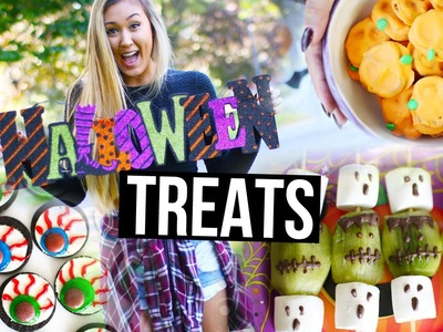 Easy DIY Halloween Treats & Snacks | LaurDIY