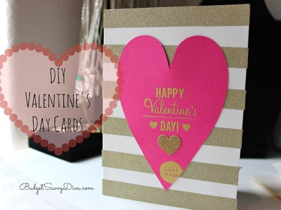 Easy DIY Valentine's Day Card