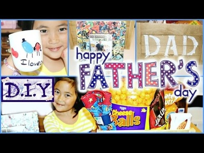 Father's Day DIY Gift Ideas kids friendly 2015