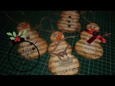 G's Christmas in July 2015 video 2.6: Music paper Christm