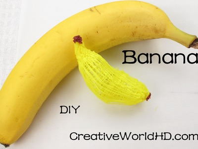 How to make Banana 3D- 3D Printing Pen.Scribbler DIY Tutorial