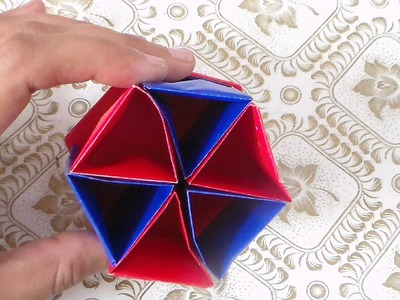 How to Make Paper Pencil Holder - Papel Lápiz Titular