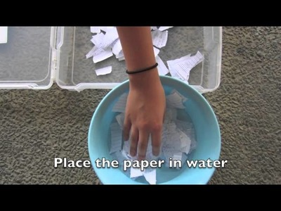 HOW TO MAKE WATERPROOF PAPER !