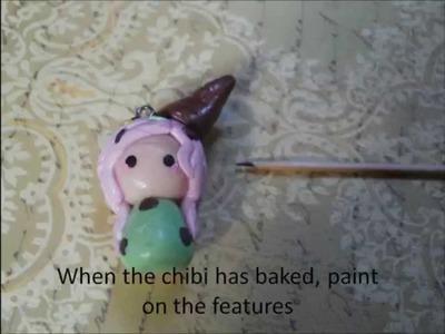 Ice-cream chibi tutorial
