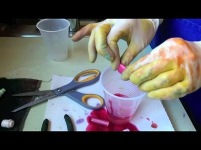 Make Your Own Liquid Watercolor Paint