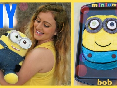 MINIONS CAKE! DIY Glam Barbie❤