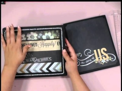 Minutes to Memories Scrapbook and Storage Box