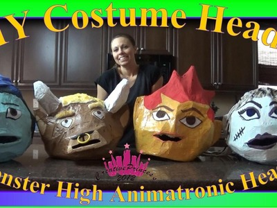 Monster High| DIY Costume Character Heads - Creative Princess