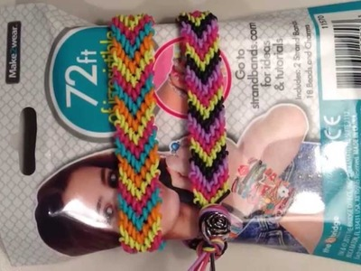 New Chevron Strand Friendship Bracelet - Strand Bands - Rubber Band Bracelets