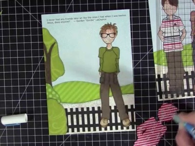 Paper Doll Layout | June 2015