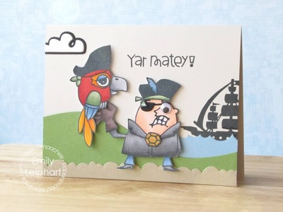 {Paper Smooches} Yar Matey + Video Hop Event with Giveaways!