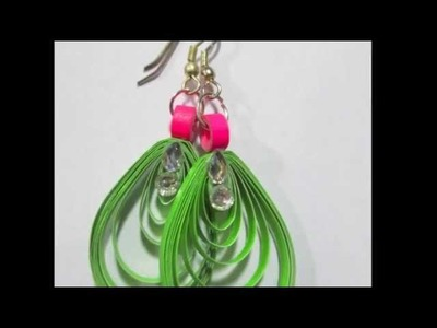 Paperquilling - Jewellery Designing (Do it Yourself)