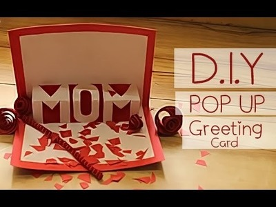 POP UP Greeting Card D.I.Y.