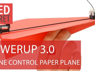 PowerUp 3.0 - smartphone controlled paper plane [Review]