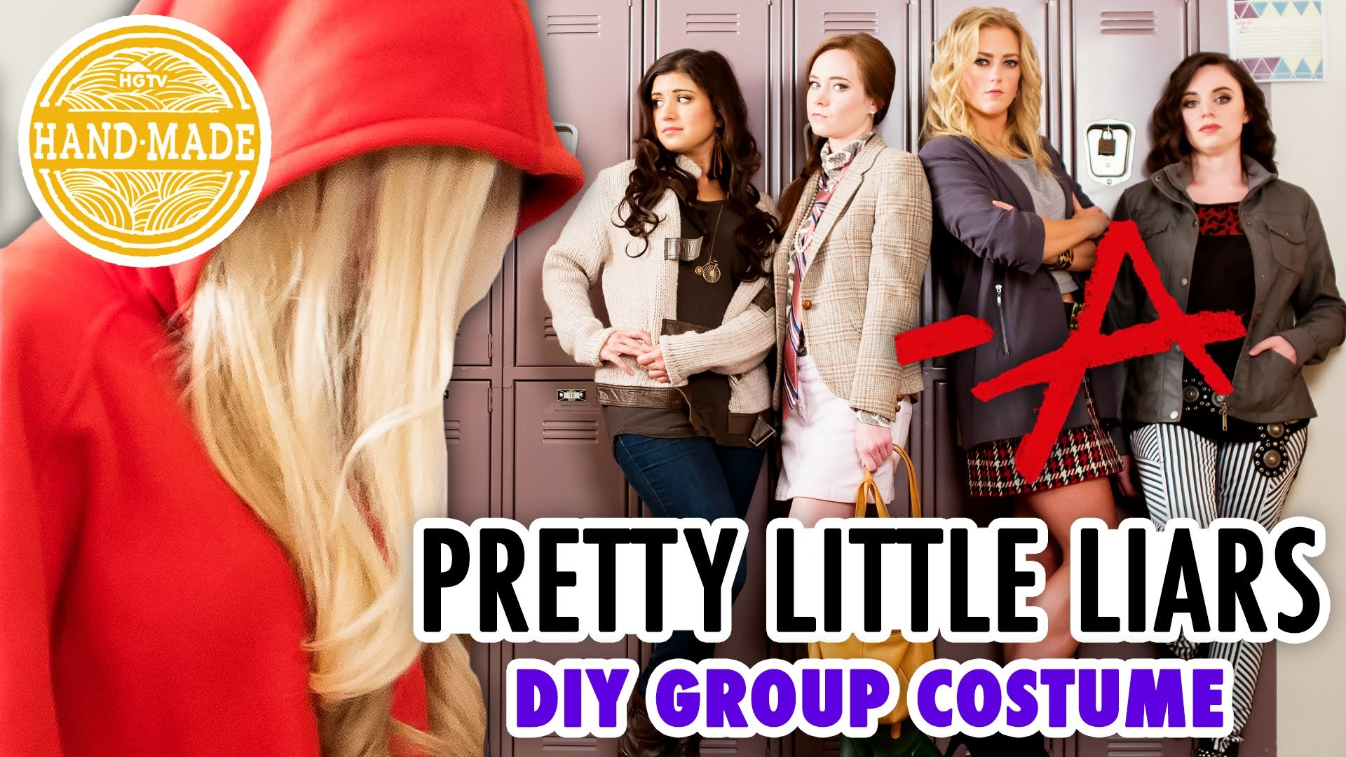 Pretty Little Liars DIY Halloween Costume - HGTV Handmade