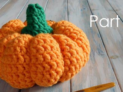 Prt2 How to Crochet a Life-Size Pumpkin