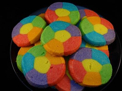 Rainbow Jell-O Sugar Cookies- with yoyomax12