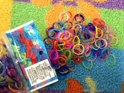 Rainbow Loom Jelly Mix Rubber Bands